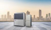 Hybridní VRF Panasonic kombinuje elektrický a plynový pohon  pro efektivnější i levnější chlazení budov